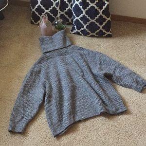 Turtleneck knit Zara sweater Small